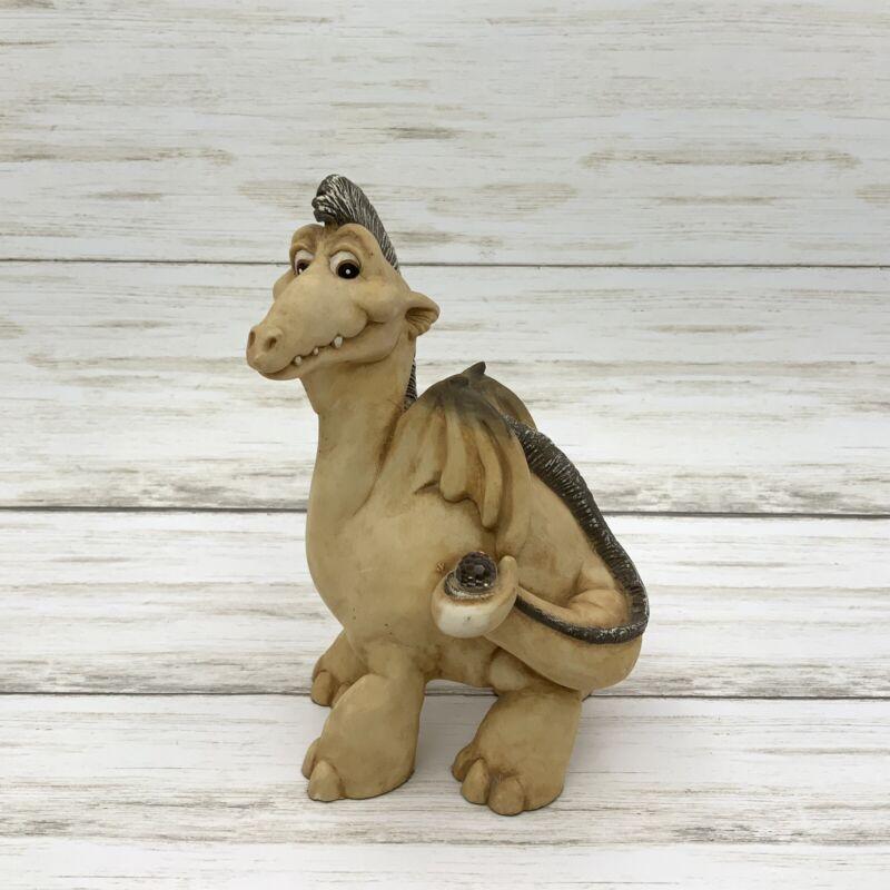 1988 Panton Intl. World of Krystonia Spyke Dragon Figurine Made in England
