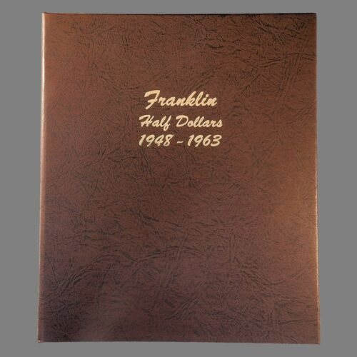 Dansco US Franklin Half Dollar Coin Album 1948 to 1963