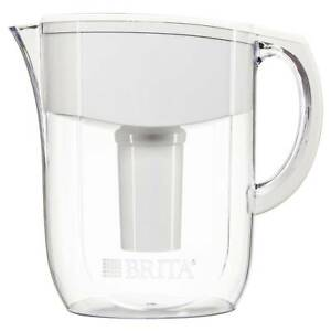 Brita 10 Cup Everyday BPA Free Water Pitcher with 1 Filter,
