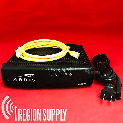 ARRIS TM1602A Docsis 3.0 Telephony VoIP Cable Modem for Optimum Cablevision
