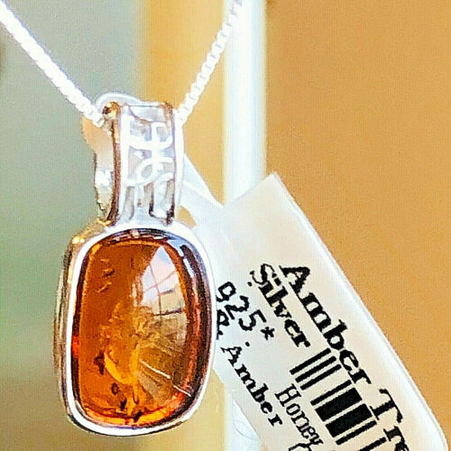 100% Genuine Baltic Amber Necklace Russian Vintage Butterscoth Egg Yolk Polish