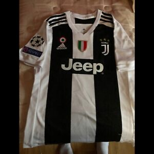 Ronaldo champions league jersey with patches