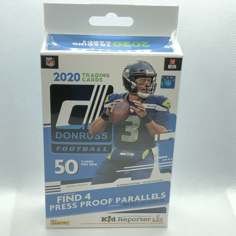 2020 Panini Donruss NFL Football Hanger Box 1 Pack of 50 Cards Rookies MVP