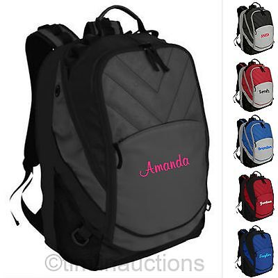 Personalized Monogrammed Back to School Backpack Book Bag Boys / Girls - Personalized Bookbag