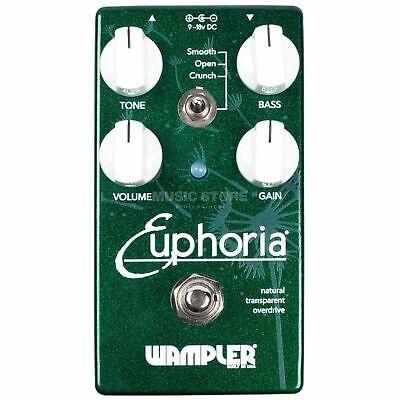 Wampler Euphoria Drive Guitar Pedal