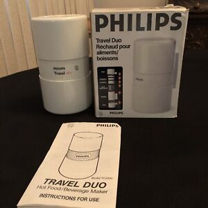 Philips Travel Duo Hot Food and Beverage Maker