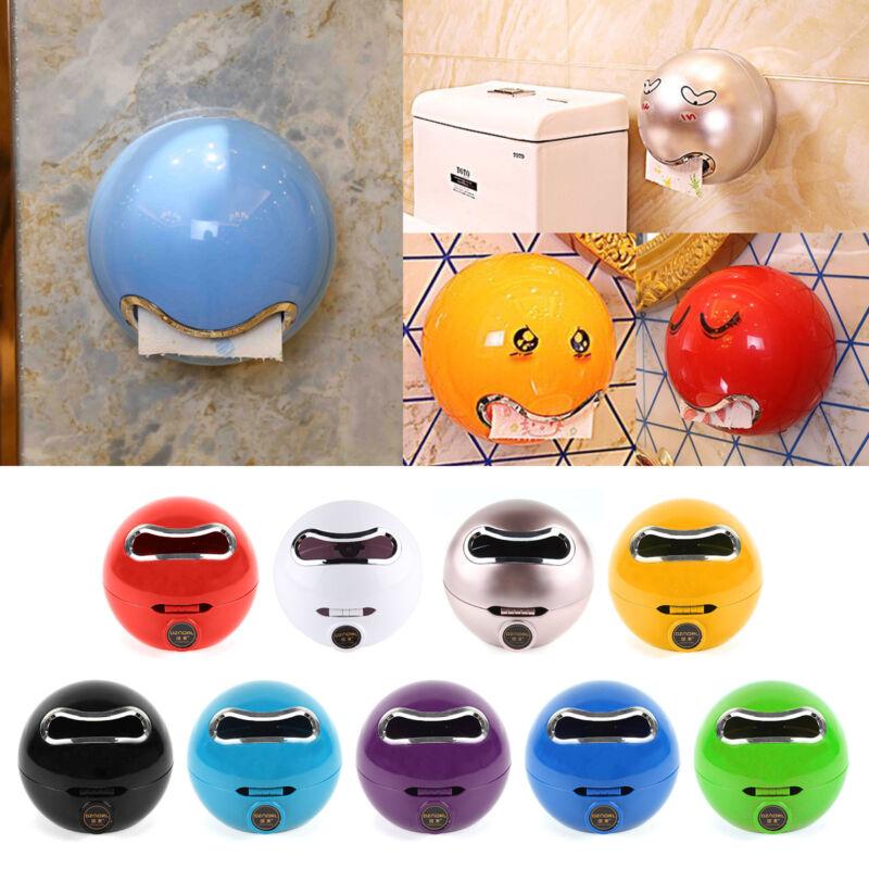 Emoji Kugel WC-Papierhalter Rollenhalter Klopapierhalter Runde Toilettenpapier
