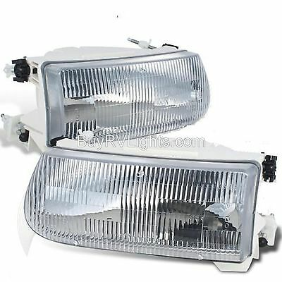AIRSTREAM LAND YACHT 2003 2004 2005 2006 PAIR HEADLIGHTS HEAD LIGHTS LAMPS RV