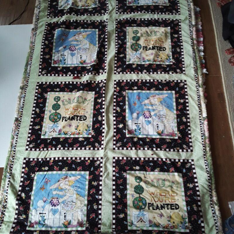 Handmade Mary Engelbreit Quilt
