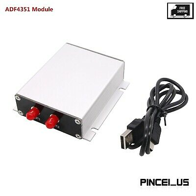 Adf4351 Rf Signal Generator Sweep Frequency Generator 4.4g Pc Software Control
