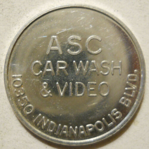 ASC Car Wash & Video (Chicago, Illinois) token - IL1500AA