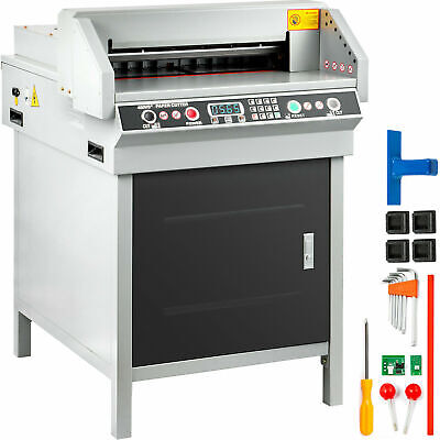 New 17.7 Programable Electric Stack Paper Cutter With Extra Blade - Usa Seller
