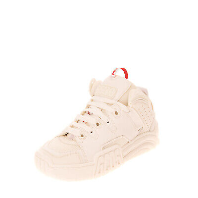 RRP €325 GCDS Sneakers EU 36 UK 3 US 6 Logo Perforated Thick Sole Made in Italy
