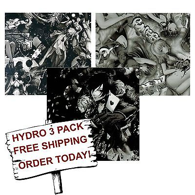 Hydro Dip Hydrographic Film Water Transfer Printing Film Anime 3 Pack
