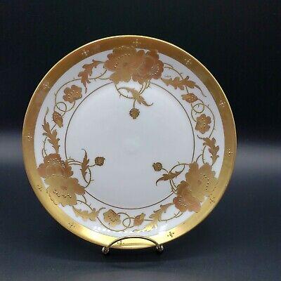 Large Antique Pickard China Limoges France 10 Bowl Hand Painted Blackberries Gold Artist Signed !