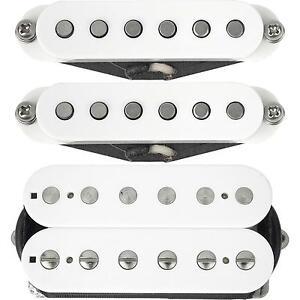 Suhr Guitars ML Classic Neck, Middle & SSV Bridge S-S-H Pickup Set WHITE - NEW
