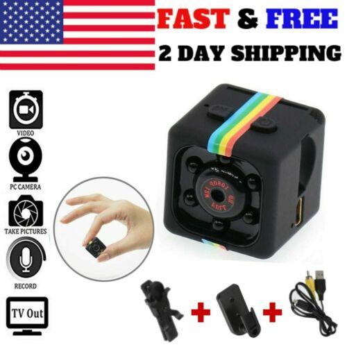 Mini Spy Camera CAM COP Hidden Motion Activated Cam IR Night
