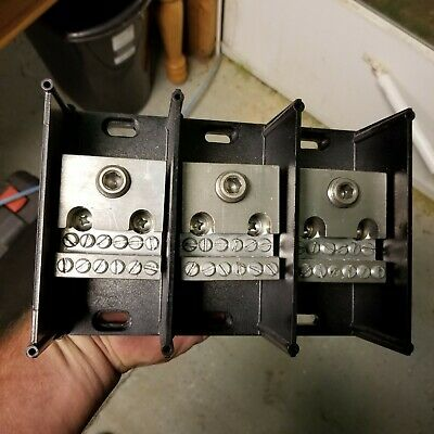 Gould Shawmut 69153 Power Distribution Box 3 Pole