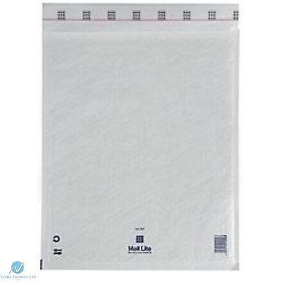200 G4 G/4 White 240 x 330 mm Padded Bubble Bubble Wrap Mail Lite Postal Bag