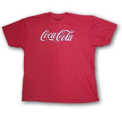 "Coca Cola Men's Short Sleeve T-shirt ""Coca Cola Reg. US. PAT. OFF."" NWOT"