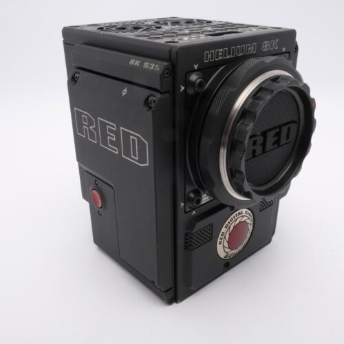 RED CAMERA DSMC 8K HELIUM BRAIN WITH CANON EF MOUNT