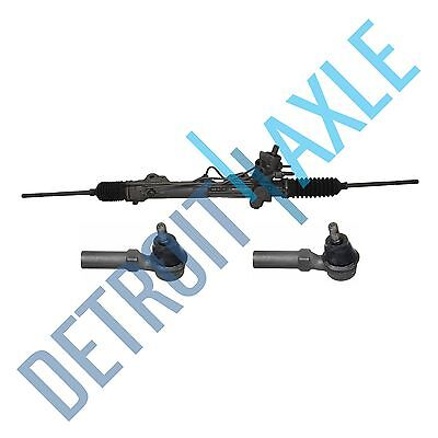 Complete Power Steering Rack and Pinion Assembly + 2 New Outer Tie Rod -WINDSTAR