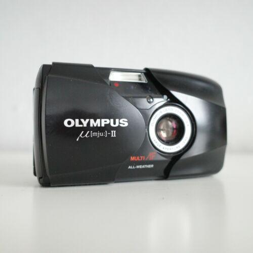 [EXCELLENT] Olympus mju II Stylus Epic   35mm Sharp Lens Compact Film Camera