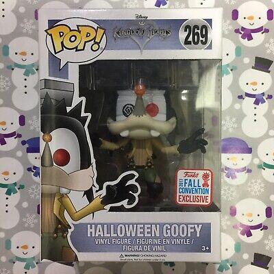 FUNKO POP! Disney : Halloween Goofy NYCC 2017 (Shared Sticker)