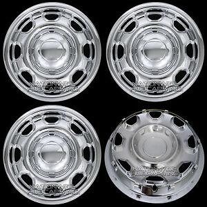 4-New-CHROME-2010-15-Ford-F-150-17-Wheel-Skins-Hub-Caps-8-Hole-Steel-Rim-Covers