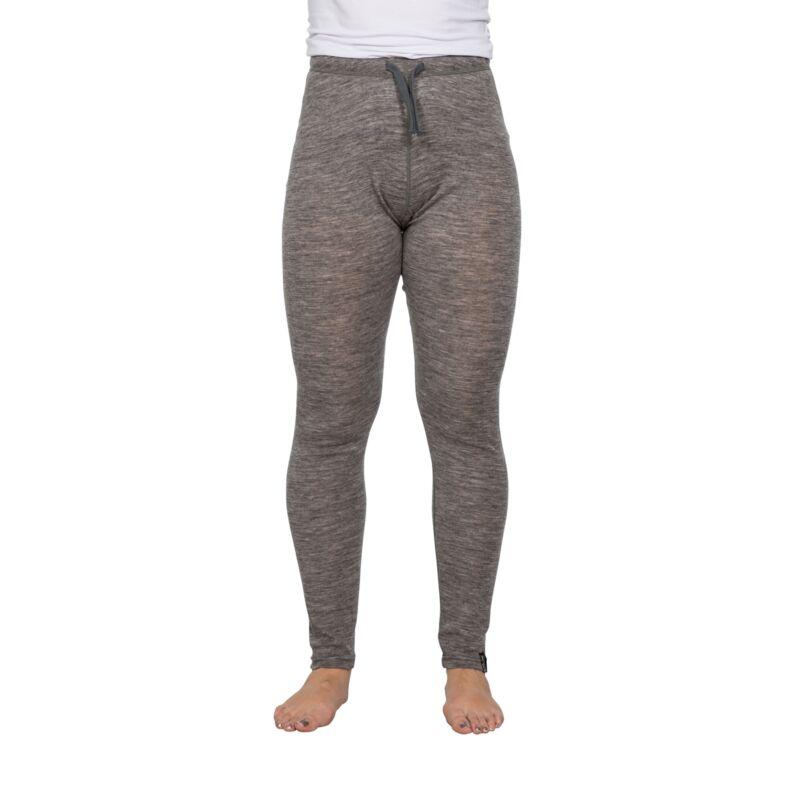 DLX Womens Leggings Thermal Merino Wool Base Layer Pants Chara