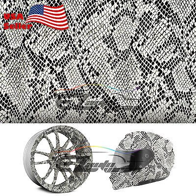 19x38 Hydrographic Film Hydro Dipping Dip Water Transfer Snake Skin Python 19