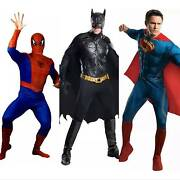 Super hero costume hire spiderman, batman, superman Guildford West Parramatta Area Preview