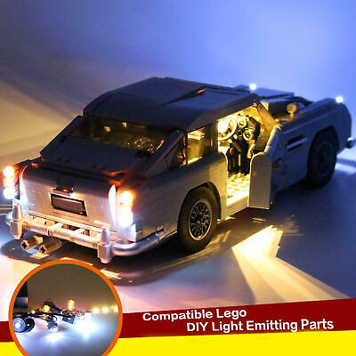 LED Light Kit For Lego 10262 Aston Martin DB5 Creator James Bond lighting bricks