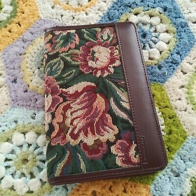 Day Runner 5 X 8 Tapestry Floral Planner Organizer Cover