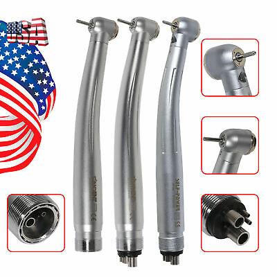 Nsk Style Dental Led Fiber Optic High Speed Turbine Handpiece E-generator Power