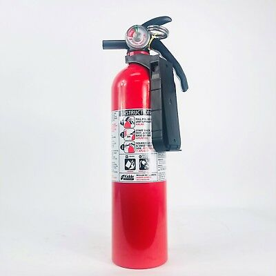 440161 Fire Extinguisher 2.5 Lb. Bcfc10 With Plastic Bracket By Kidde