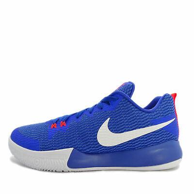 37bb77320a61 NIKE Mens Blue   White Zoom Live II Basketball Shoes Trainers US 10.5  ah7566-40