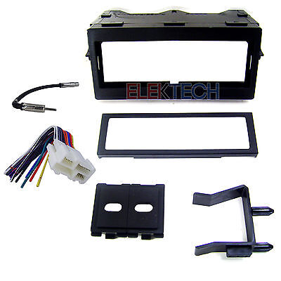 Radio Replacement Dash Mount Kit 1-DIN w/Harness/Antenna for Chevrolet/GMC