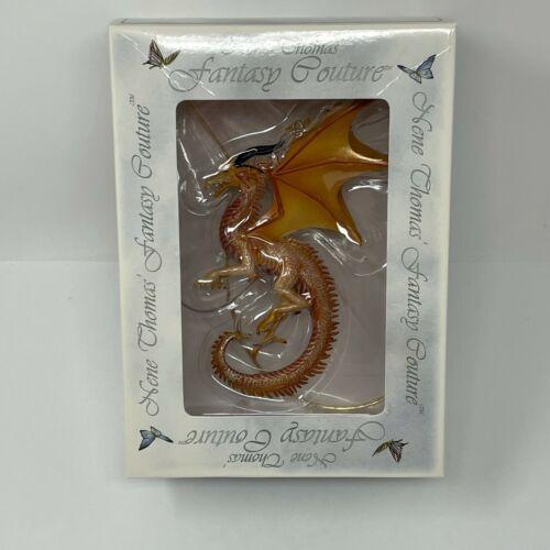 Nene Thomas Fantasy Couture Sundancer 83919 Golden Dragon Figurine