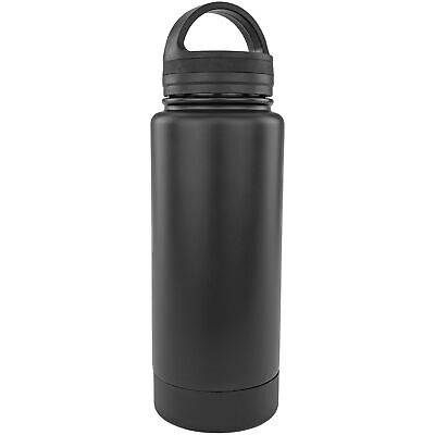 Stainless Steel Bottle Diversion Safe Store Small Valuables Dual Purpose Black Bicycle Accessories