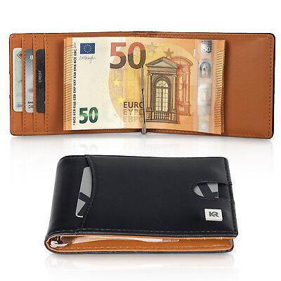 248762997952d Geldbeutel Herren schmal mit Münzfach und RFID Schutz