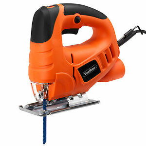 VonHaus Electric Power 400W Heavy Duty Pendulum Cutting Jigsaw - Variable Speeds