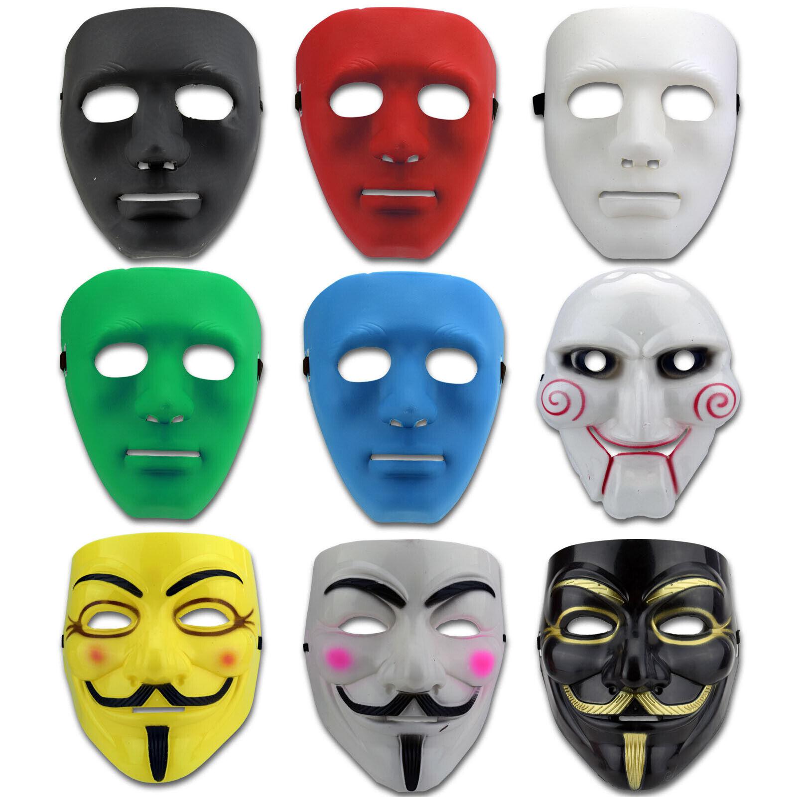 Halloween Maske Horror Vendetta SAW Kostüm Masken Karneval Fashing Gesichtsmaske