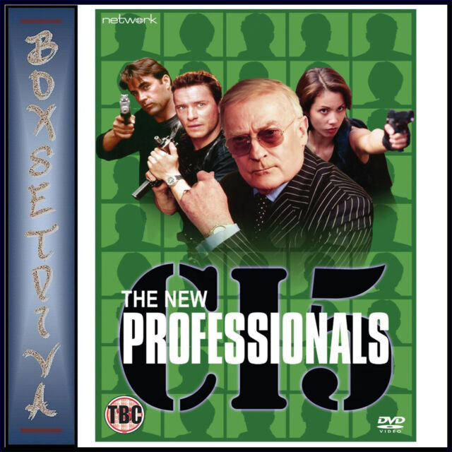 C15 THE NEW PROFESSIONALS - THE COMPLETE SERIES *BRAND NEW DVD**