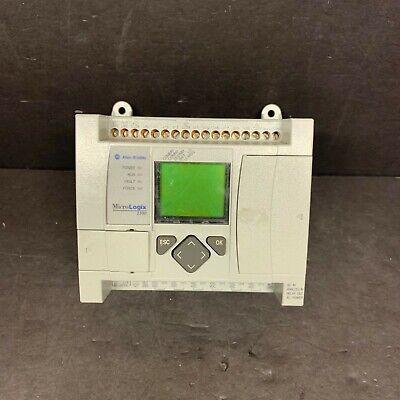 Allen Bradley 1763-l16awa A B Frn 2 Micrologix 1100 Controller Programmable Cpu