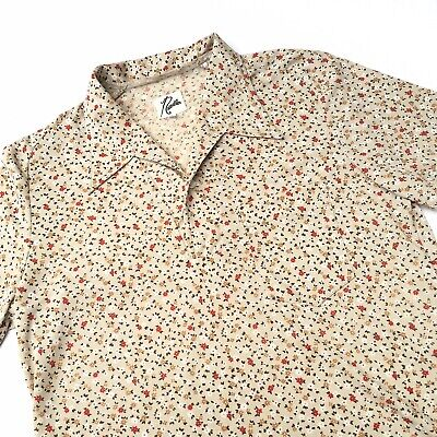 Needles Floral Shirt S Nepenthes Kapital 70s