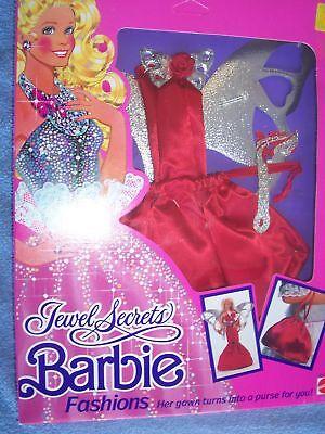 JEWEL SECRETS BARBIE DOLL FASHION CLOTHING OUTFIT 1986