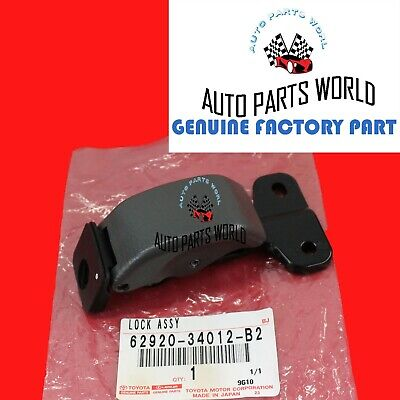 GENUINE TOYOTA 00-06 TUNDRA GRAY LEFT DRIVER QUARTER WINDOW LOCK 62920-34012-B2