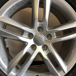 Brand New 18 Inch OEM Audi 5 Spoke Rims