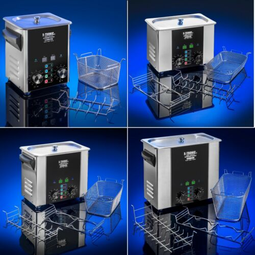 X-Tronic Platinum Edition Commercial Ultrasonic Cleaners - Sweep/Degas Functions